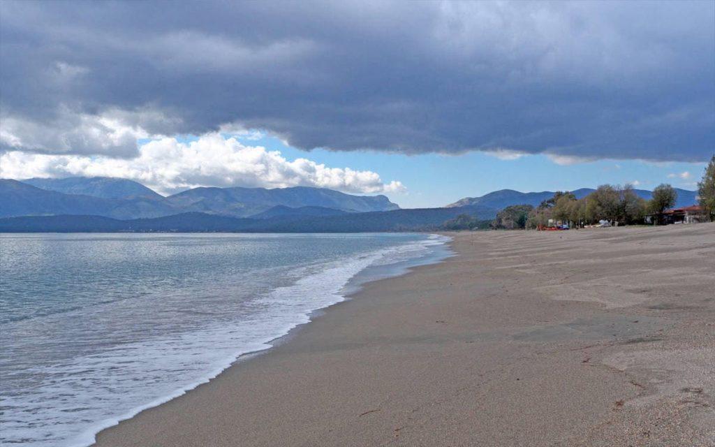 Η παραλία του Μαυροβουνίου